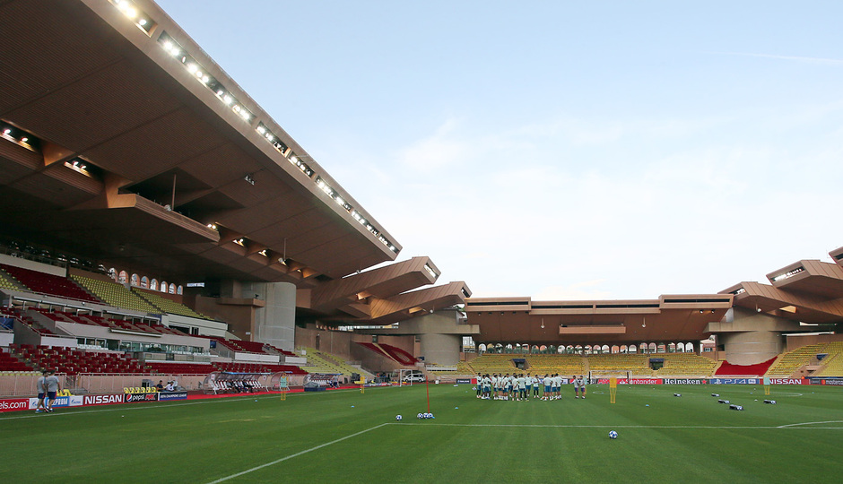 Temp. 18-19   Entrenamiento oficial Champions League en Mónaco   UCL  