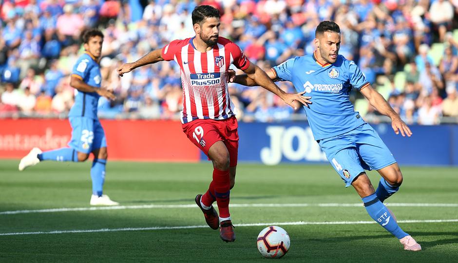 Temporada 2018-2019 | Getafe - Atlético de Madrid | Diego Costa