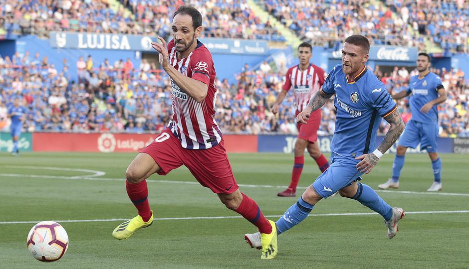 Temporada 2018-2019 | Getafe - Atlético de Madrid | Juanfran