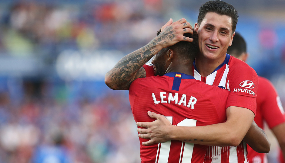Temporada 2018-2019 | Getafe - Atlético de Madrid | Lemar y Giménez