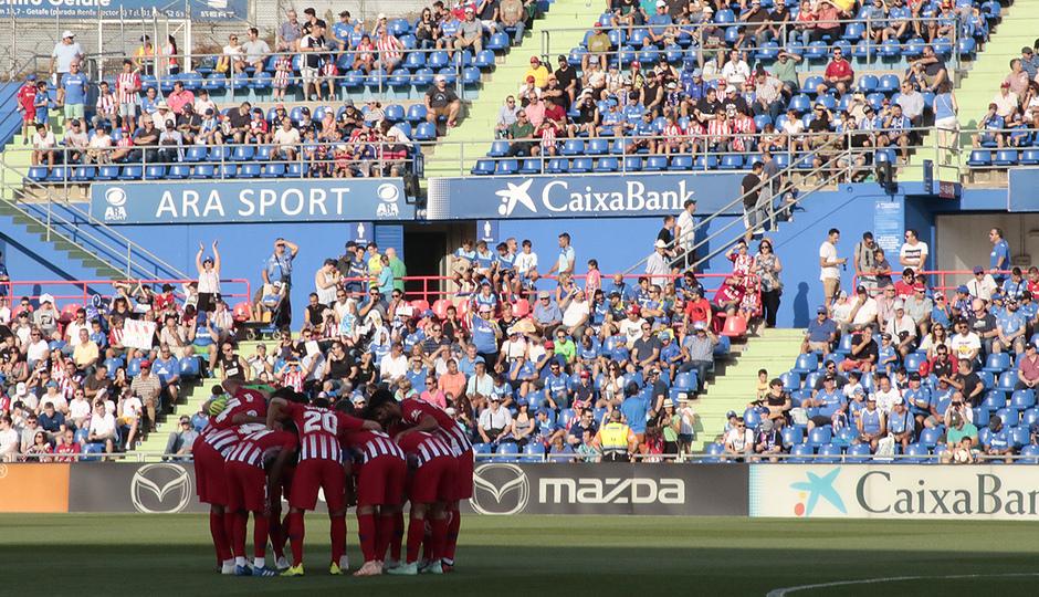 Temporada 2018-2019 | Getafe - Atlético de Madrid | Grupo