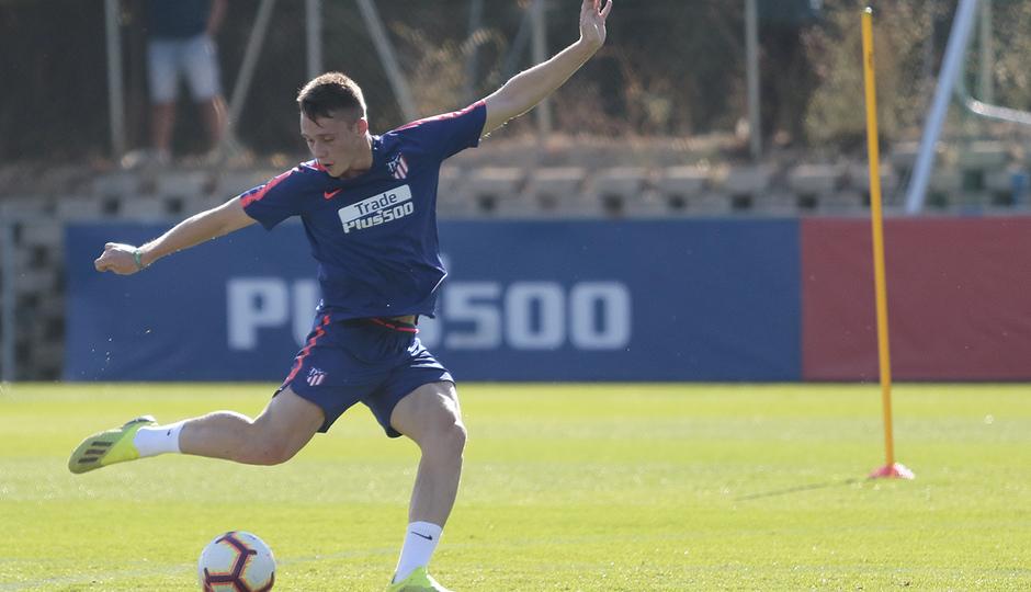 Temporada 18/19 | Entrenamiento del primer equipo | 23/09/2018 | Borja Garcés