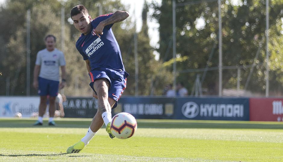 Temporada 18/19 | Entrenamiento del primer equipo | 23/09/2018 | Correa