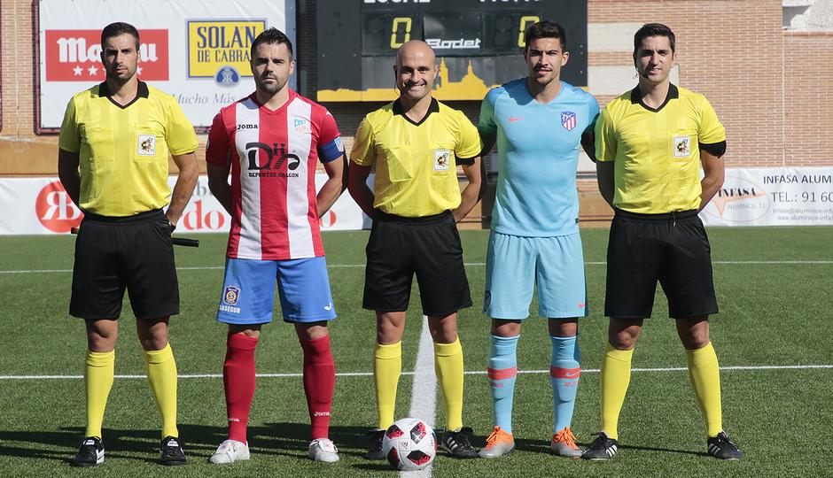 Temp. 17-18 | Navalcarnero - Atlético de Madrid B | Capitanes