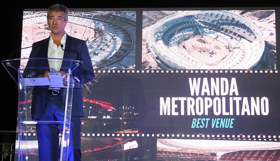 Temp. 18-19 | El Wanda Metropolitano, galardonado en los 'WFS Industry Awards' como mejor estadio | Miguel Ángel Gil