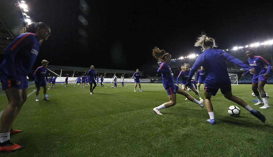 Temporada 18/19 | Entrenamiento en el Academy Stadium del Atleti Femenino |