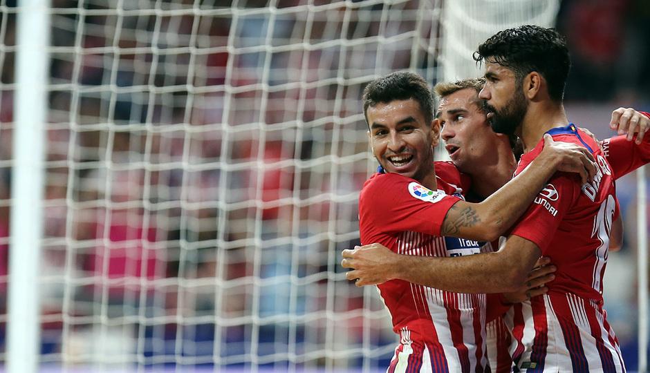 Temporada 2018-2019 | Atlético de Madrid- SD Huesca | Griezmann Diego Costa Correa