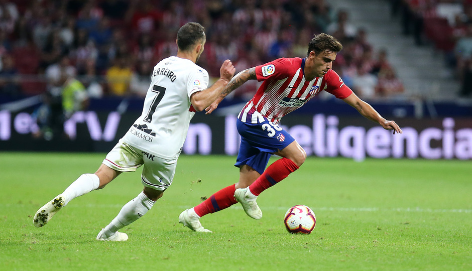 Temporada 2018-2019 | Atlético de Madrid- SD Huesca | Carlos Isaac