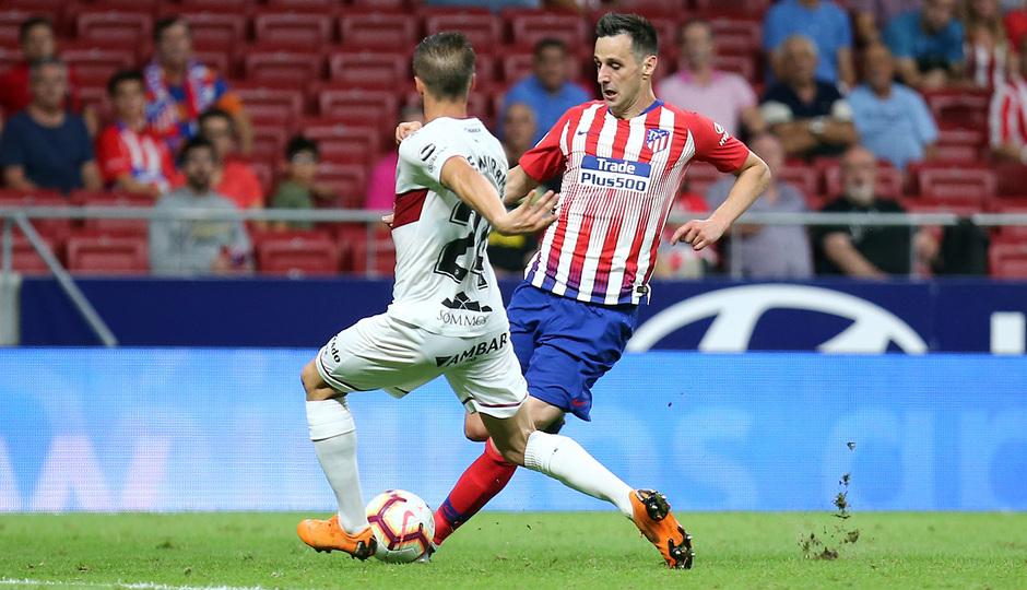 Temporada 2018-2019 | Atlético de Madrid- SD Huesca | Kalinic