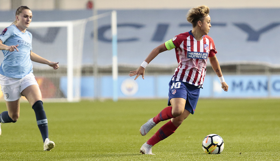 Temporada 18/19 | Manchester City Femenino - Atético Femenino | Amanda Sampedro