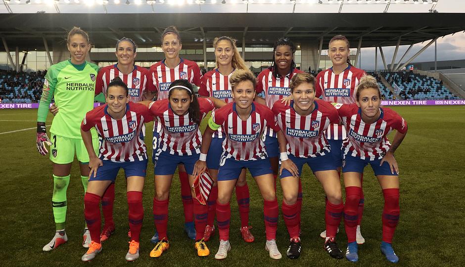 Temporada 18/19 | Manchester City Femenino - Atético Femenino | Once