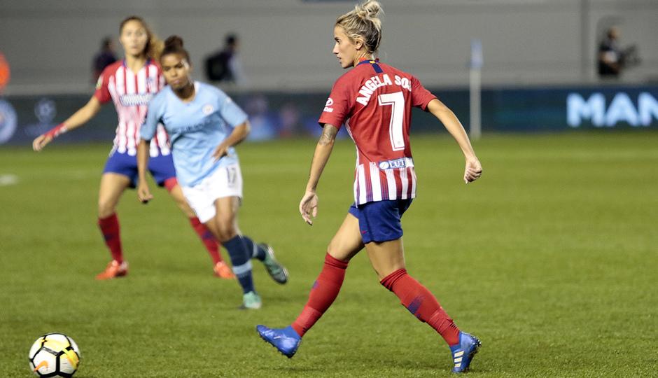 Temporada 18/19 | Manchester City Femenino - Atético Femenino | Ángela Sosa