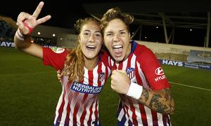 Temporada 18/19 | Manchester City Femenino - Atético Femenino | Laia y Elena Linari