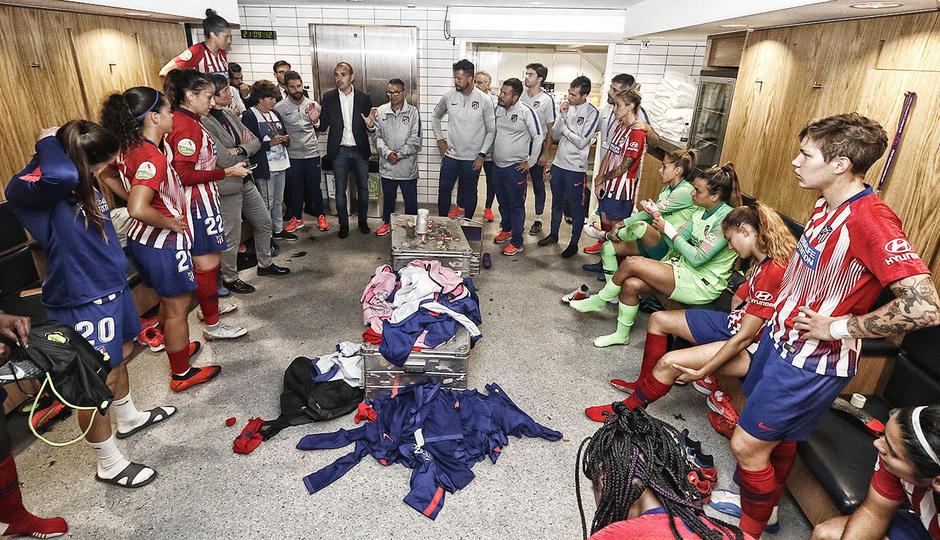 Temporada 18/19 | La otra mirada Manchester City - Atlético de Madrid Femenino |
