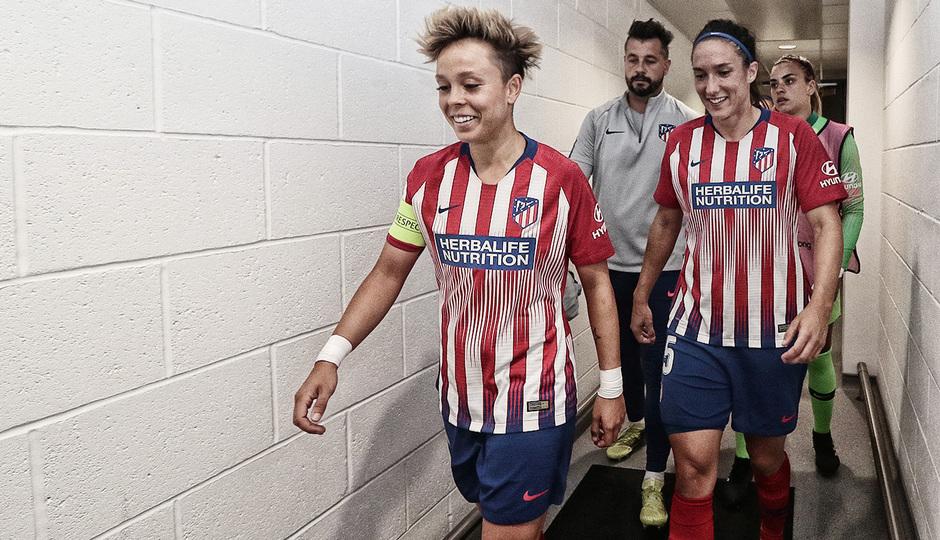 Temporada 18/19 | La otra mirada Manchester City - Atlético de Madrid Femenino | Amanda y Meseguer