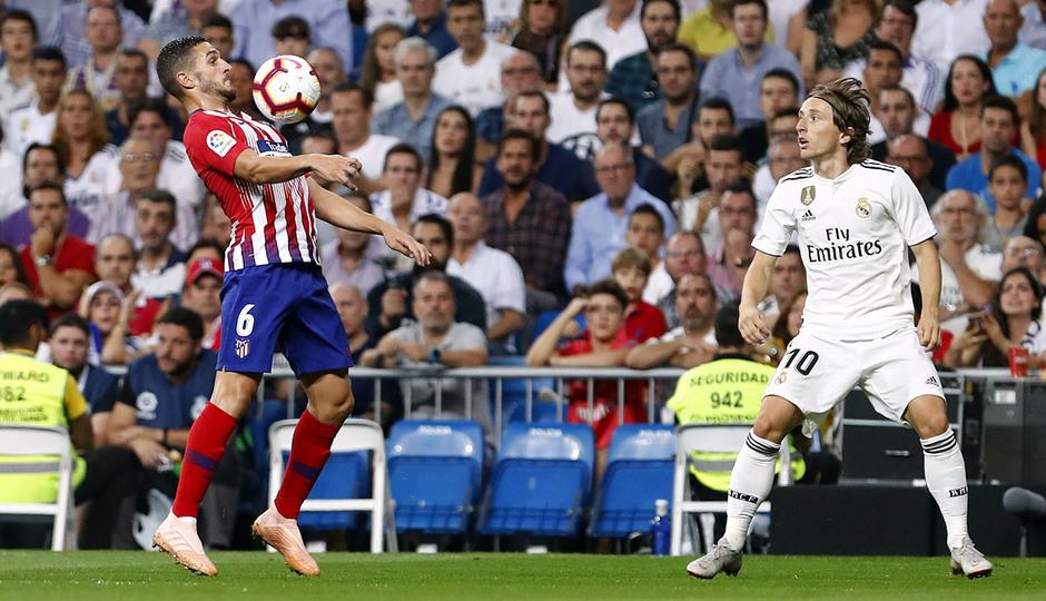 Temporada 2018-2019   Real Madrid -Atlético de Madrid   Koke