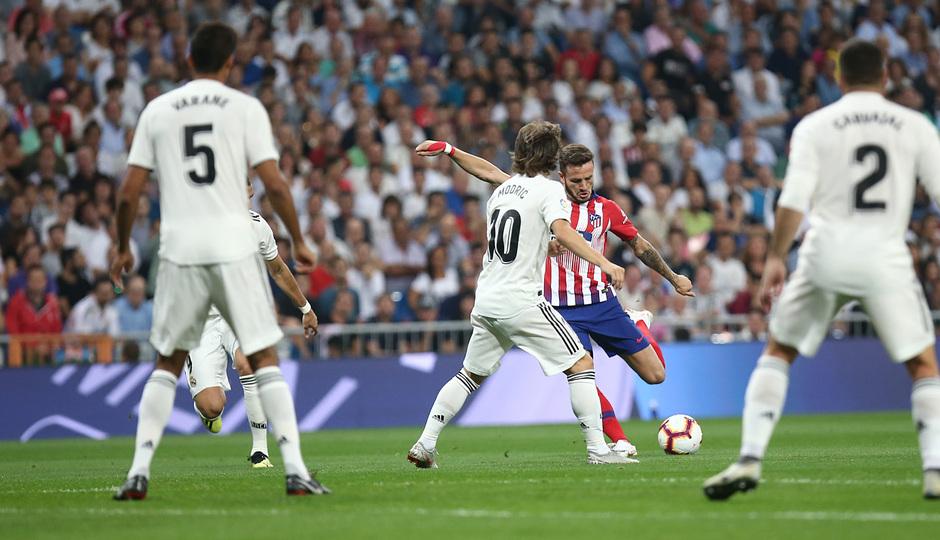 Temporada 2018-2019   Real Madrid -Atlético de Madrid   Saúl
