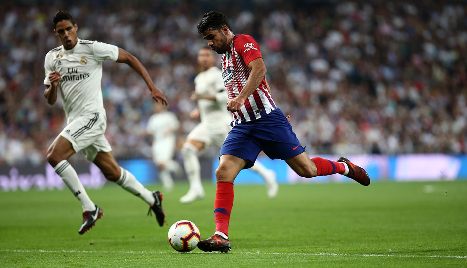 Temporada 2018-2019   Real Madrid -Atlético de Madrid   Diego Costa