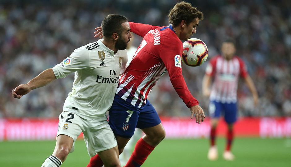 Temporada 2018-2019   Real Madrid -Atlético de Madrid   Griezmann