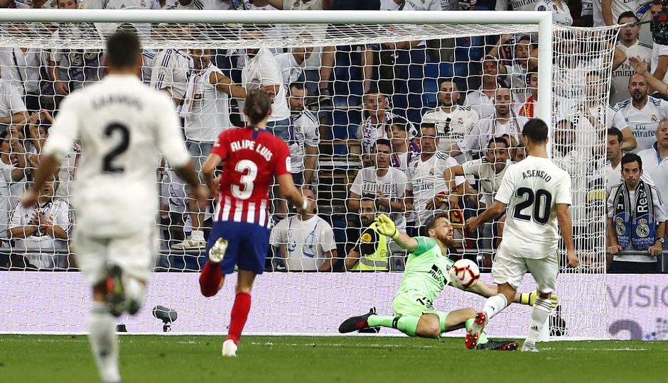 Temporada 2018-2019   Real Madrid -Atlético de Madrid   Filipe