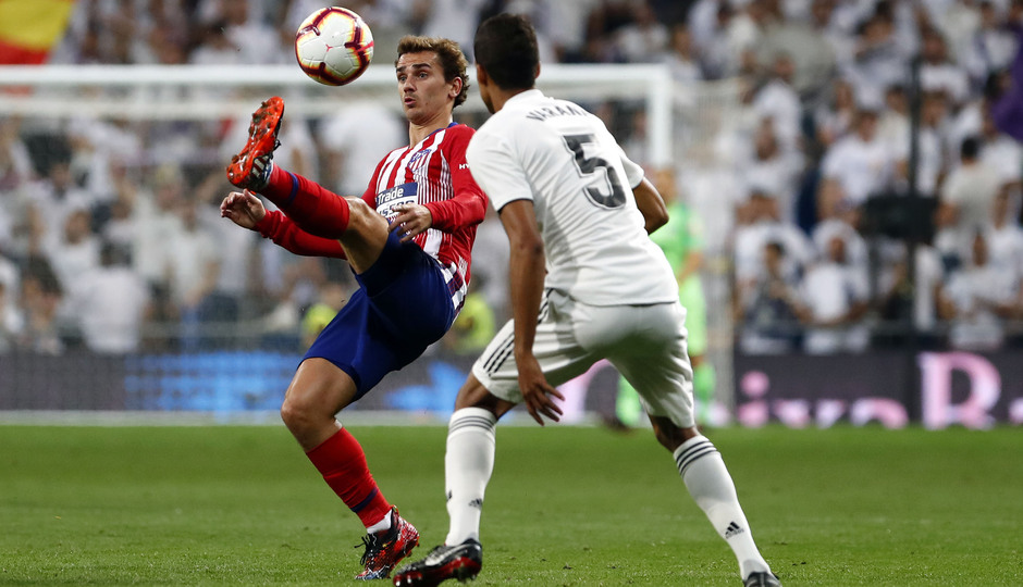 Temporada 2018-2019 | Real Madrid -Atlético de Madrid | Griezmann