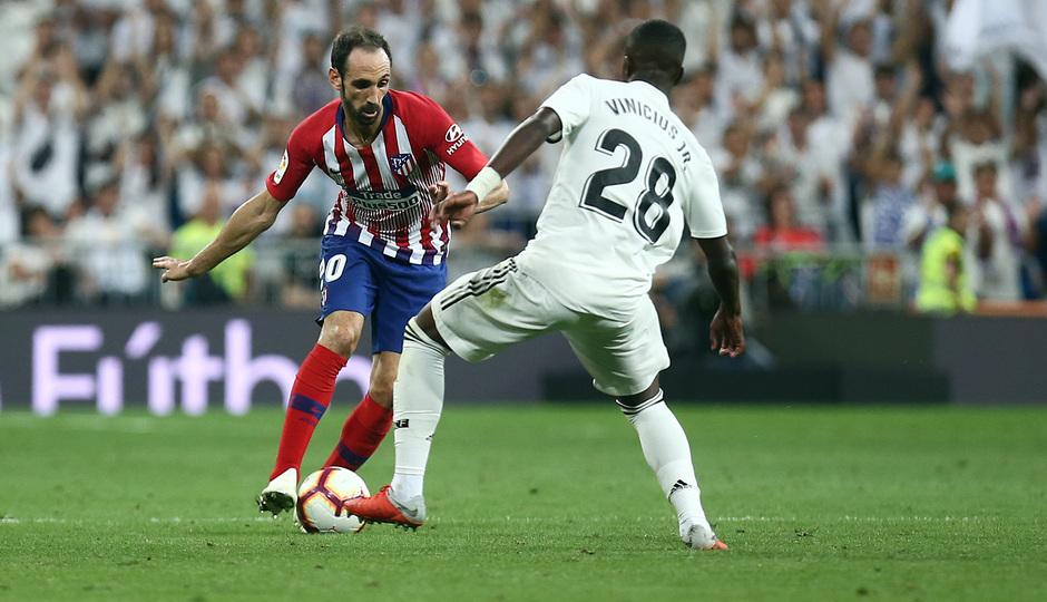 Temporada 2018-2019   Real Madrid -Atlético de Madrid   Juanfran