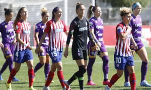 Temporada 18/19 | Liga Iberdrola | Atleti - Granadilla | Salida equipos