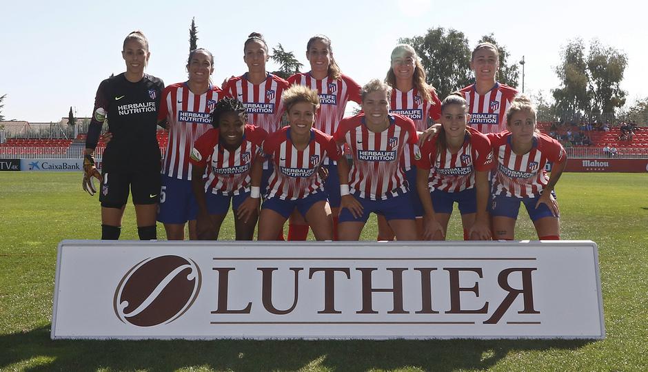 Temporada 18/19 | Liga Iberdrola | Atleti - Granadilla | Once inicial