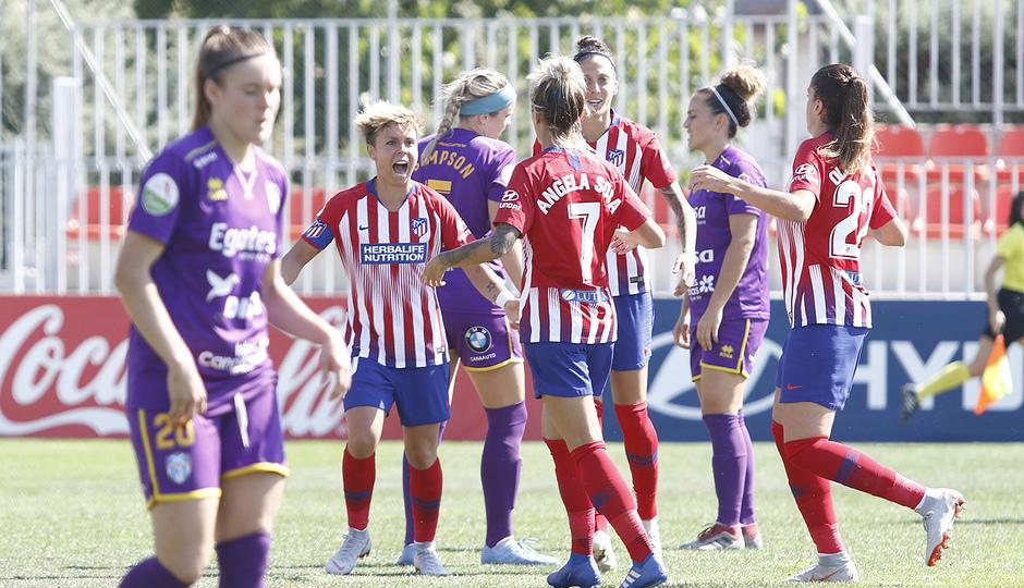 Temporada 18/19 | Liga Iberdrola | Atleti - Granadilla | Celebración