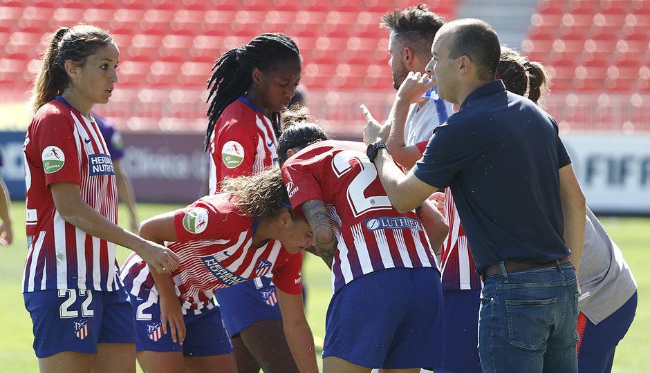 Temporada 18/19 | Liga Iberdrola | Atleti - Granadilla | Sánchez Vera