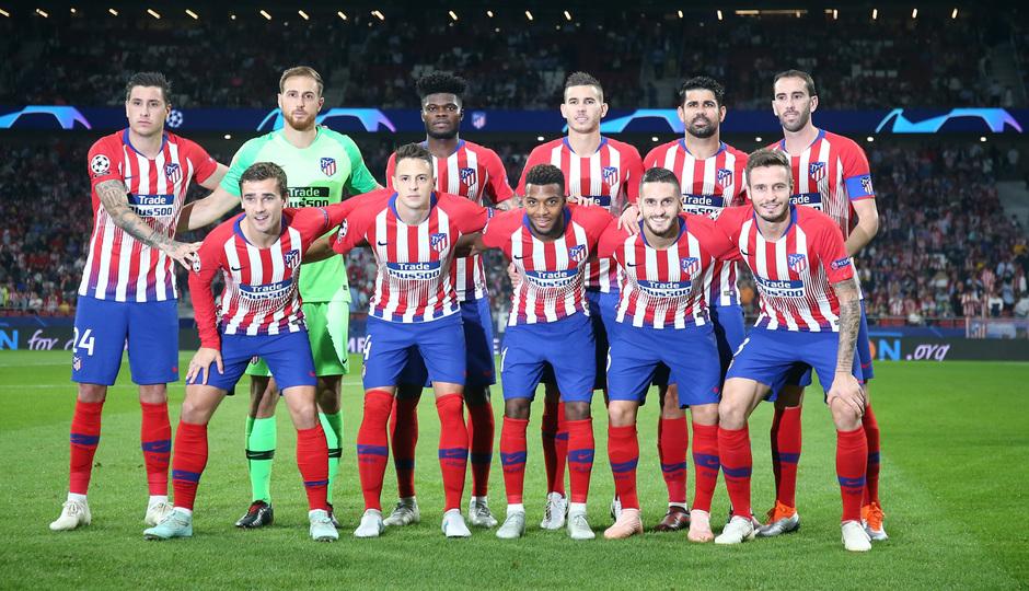 Temporada 2018-2019 | Atlético de Madrid - Brujas | Once