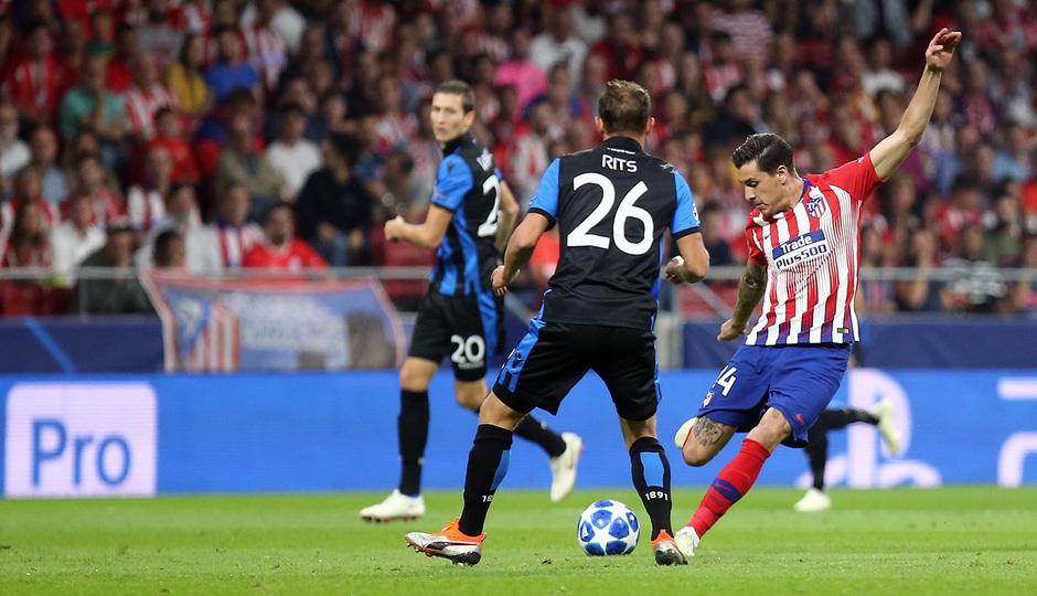 Temporada 2018-2019 | Atlético de Madrid - Brujas | Giménez