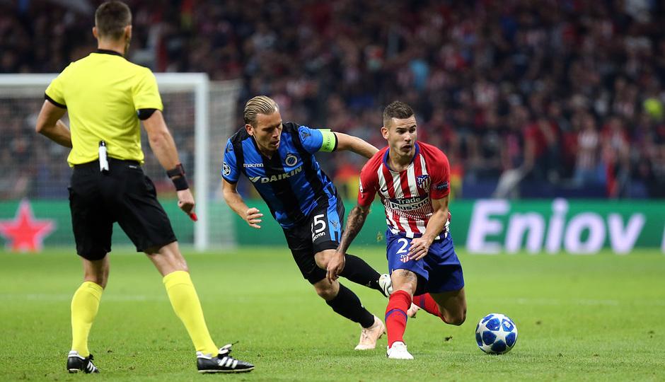 Temporada 2018-2019 | Atlético de Madrid - Brujas | Lucas