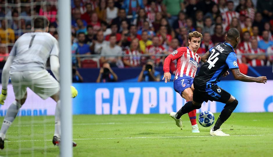 Temporada 2018-2019 | Atlético de Madrid - Brujas | Gol de Griezmann