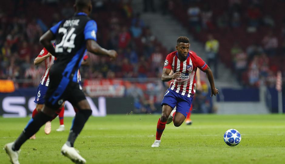 Temporada 2018-2019 | Atlético de Madrid - Brujas | Lemar