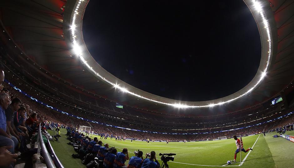 Temporada 2018-2019 | Atlético de Madrid - Brujas | Wanda Metropolitano Lemar