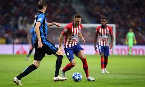 Temporada 2018-2019 | Atlético de Madrid - Brujas | Arias