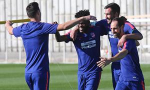 Temporada 2018-2019 | Ciudad Deportiva Wanda  | Entrenamiento