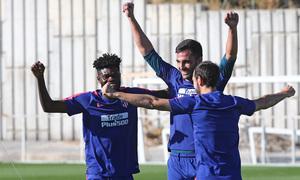 Temporada 2018-2019 | Ciudad Deportiva Wanda  | Thomas, Adán y Juanfran