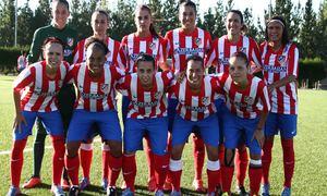 Temporada 2013-2014. Primer once de la temporada del Féminas
