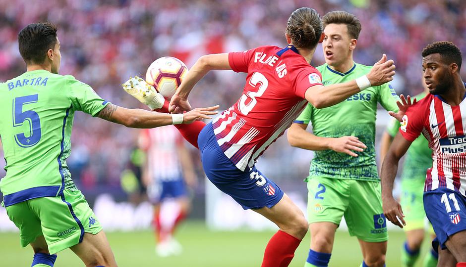 Temporada 2018-2019   Atlético de Madrid - Betis   Filipe y Lemar