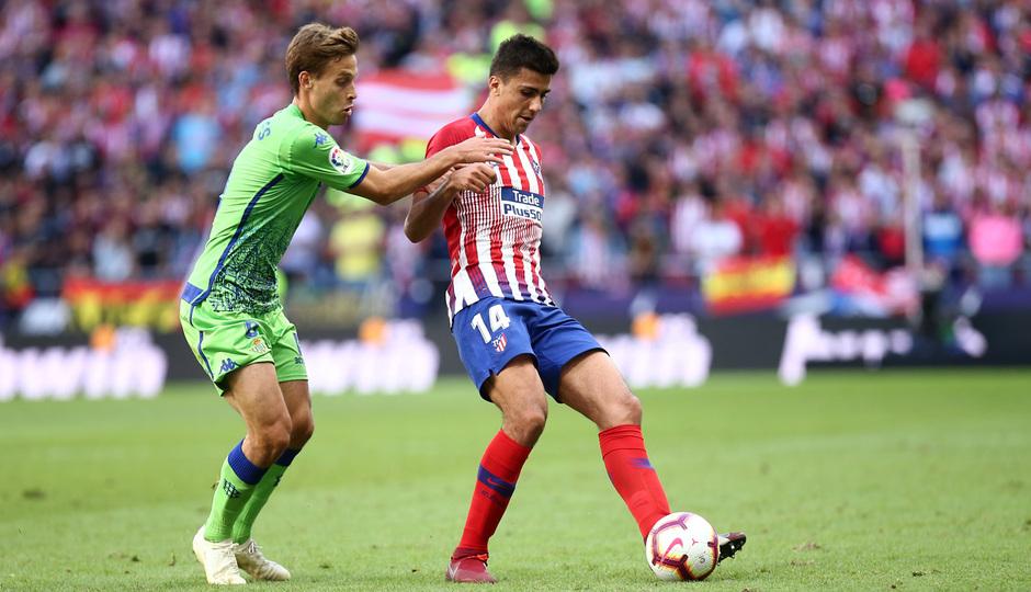 Temporada 2018-2019   Atlético de Madrid - Betis   Rodrigo