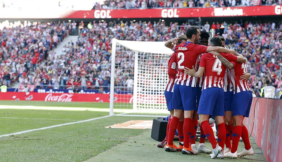 Temporada 18/19   Atleti - Real Betis   Gol Correa