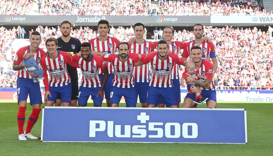 Temporada 2018-2019   Atlético de Madrid - Betis   Once