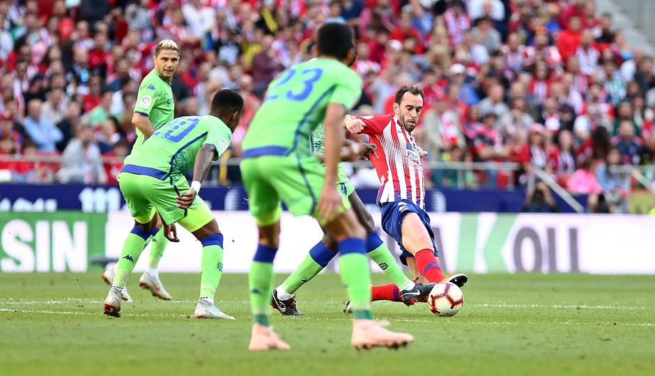 Temporada 2018-2019   Atlético de Madrid - Betis   Godín