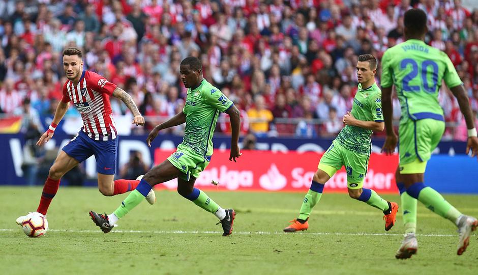 Temporada 2018-2019   Atlético de Madrid - Betis   Saúl