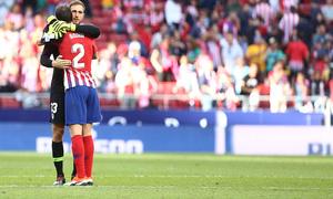Temporada 2018-2019 | Atlético de Madrid - Betis | Godín y Oblak
