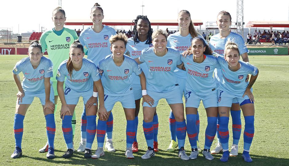 Temporada 18/19 | Liga Iberdrola | Sevilla - Atleti | Once inicial