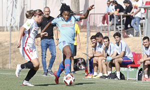 Temporada 18/19 | Liga Iberdrola | Sevilla - Atleti | Ludmila