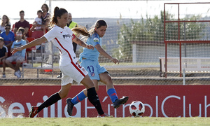 Temporada 18/19 | Liga Iberdrola | Sevilla - Atlético de Madrid | Chidiac